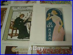 15 Original Period Magazine ca 1900 Art Nouveau Print Covers Woman for framing
