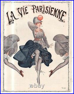 1916 La Vie Parisienne Original French Mouse cover only by Herouard Art Deco