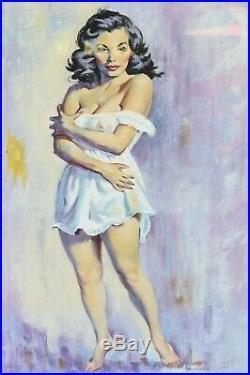 1957 Original Oil Tobacco Road Book Cover Illustration by Frank Tauriello