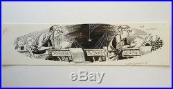 1964 Topps Nutty Awards Original Jack Davis Art