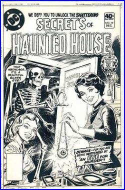 1979 Secrets Of Haunted House #19 Original Cover Proof DC Comics Production Art