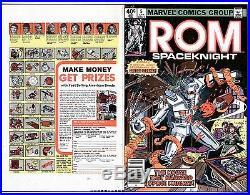 1980 Rom Spaceknight #5 Original Comic Cover Proof Production Art Marvel Comics
