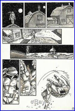 1985 Ninja Turtles #11 Page 25 Eastman & Laird Original Comic Art TMNT