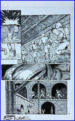 1989 Ninja Turtles #19 Page 18 RTNY Eastman & Laird Original Comic Art TMNT