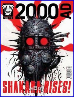 2000ad Front Cover Prog 1715 Shakara Original Painted Art Clint Langley