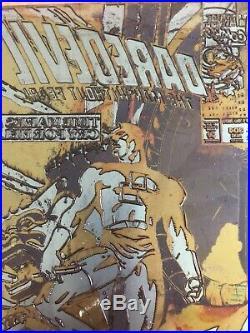 AUS MARVEL DAREDEVIL 304 COMIC BOOK COVER ORIGINAL ART PRINTING PLATE Ron Garney