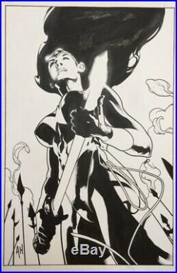 Adam Hughes Wonder Woman 168 Original Cover Art