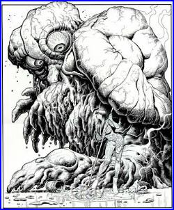 Adams, Art Sketchbook #14 Cover Original Art (very Large)