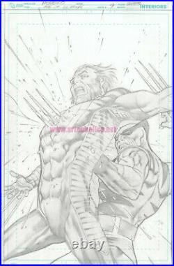 Age of ULTRON original MArvel Comics COVER ART by CARLOS PACHECO WOLVERINE