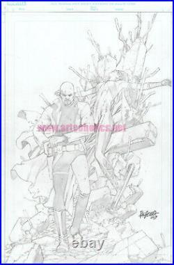 Age of X-Man Prisoner-X 1 original Marvel Comics COVER ART by CARLOS PACHECO