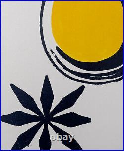Alexander CALDER, Retrospektive 1973 Original screenprint cover