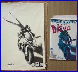 All-Star Batman 13 Variant Cover Original Art di Rafael Albuquerque