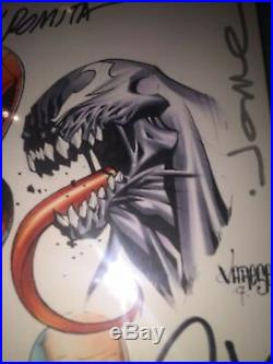 Amazing Spider-man 1 Blank Cover Cbcs 9.8 Ss Original Art John Romita & Varese