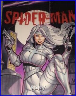 Amazing Spider-man #1 Blank Cover Original Art 1of1 A/p Cbcs 9.8 Ss Jose Varese