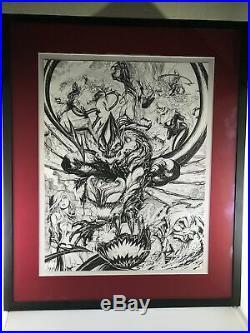 Amazing Spider-man #797-#800 Original Cover Art By Tyler Kirkham
