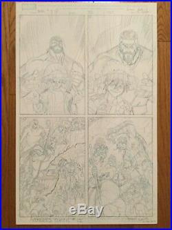Art Adams Original Art Preliminary Cover Sketches Avengers Classic 12 & Herc