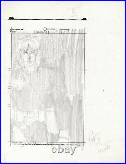 Arthur Adams 1989 Longshot Tpb Prelim Original Cover Art Adams Comic Artwork