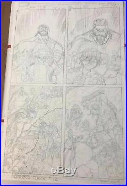 Arthur Adams Avengers Cover Original Comic Art