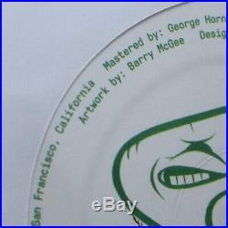 BARRY McGEE ART COVER & 12 WHITE VINYL ORIGINAL MARGARET KILGALLEN NM RARE