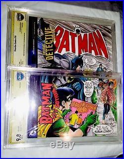 BATMAN 222 ORIGINAL ART NEAL ADAMS Beatles Cover HOMAGE HAND SKETCH CBCS 9.8 SS