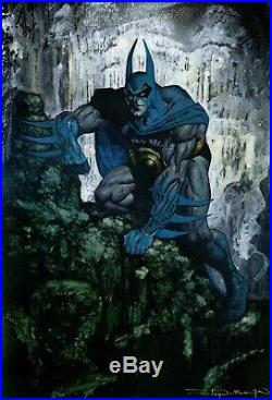 BATMAN COVER John Bolton Original art Sketch, CAPULLO, Todd McFarlane, Mignola