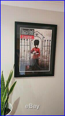 Banksy Limited Edition Print March 2010- Original Poster used for Time Out Cover