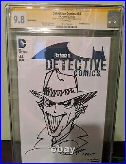 Batman Detective Comics CGC SS Sketch Cover Walt Simonson The Joker Original Art