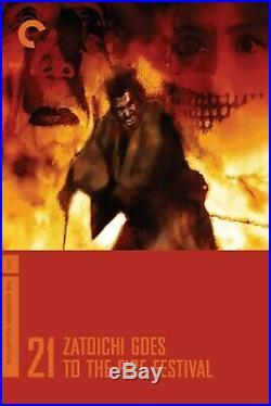 Bill Sienkiewicz Original Art Zatoichi The Blind Swordsman Criterion Cover