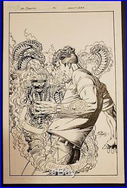 Bob Layton Original cover art. DR. Doctor Spektor #1 variant