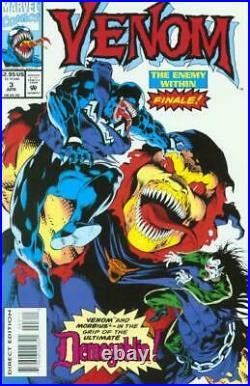 Bob McLeod Signed Original Comic Cover Art Prelim Venom Enemy Within #3 Morbius