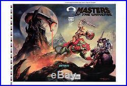 Boris Vallejo & Julie Bell He-man Motu #4 Original Production Art Cover Proof