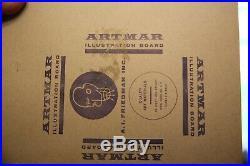 Brains Benton WHITMAN ORIGINAL COVER ART Case of the Counterfeit Coin