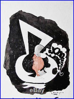 Braque Original Verve Lithograph (cover) 1953 Free Ship In Us