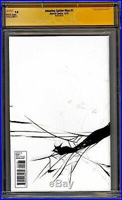 CGC 9.8 SS JAE LEE Amazing Spider-Man Sketch Cover wrap around Original art WP