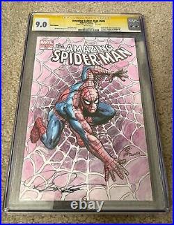 CGC Original Art Sketch Cover Spider-Man Steve Scott