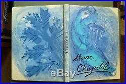 CHAGALL VERVE Nos 33-34 1956 COVER ORIGINAL LITHO + 105 HELIOGRAVURE (SI2, 18)
