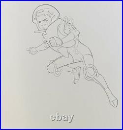 Cover Ender's Game, Battle School Hardcover, Original Art Pasqual Ferry