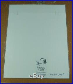 Cover Girl by Michele Light 1996 Skunk Furry Fandom Hand Drawn Artwork