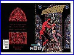 DAREDEVIL MAZZUCCHELLI and MILLER BORN AGAIN ORIGINAL COVER PROOF PRODUCTION ART