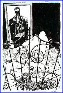 DAVID LAPHAM 30 Days Till Death #1 ORIGINAL COVER ART