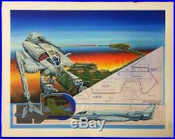 Dana Knutson Battletech Art Technical Readout 2750 Original Cover Art NM