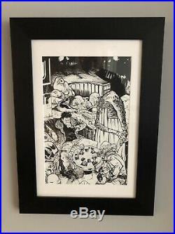 Daniel Warren Johnson original Published Comic Art Cover Star Wars (Marvel)