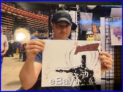 Daredevil # 1 Sketch Cover Comic Book Original Art David Mack