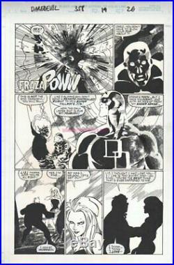 Daredevil 358 pg 19 original art page by PASQUAL FERRY Marvel Comics (1996)