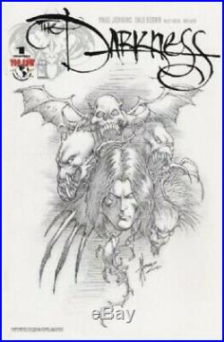 Darkness #1Incentive Sketch Cover Original Art by Dale Keown