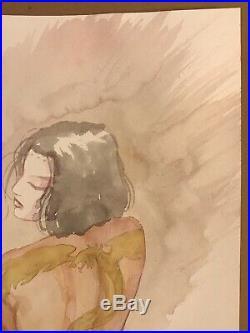 David Mack painting original art Kabuki cover comic book