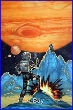 David Mattingly Book Cover Painting Moons Of Jupiter