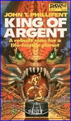 David Mattingly Original Painting Book Cover Art Illustration King Of Argent