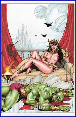 Deja Thoris Cover Commission! Original Art by MC Wyman