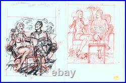 Doug Sneyd Original Art Sketch Set What Happens in Vegas Playboy Jazz Festival